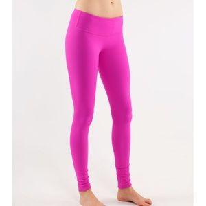 Lululemon pants reversible pink and black